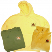 Anaconda Treasure Company Distressed Pullover Hoodie- Team ATC logo