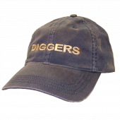 Anaconda Treasure Company Distressed Navy Ballcap