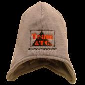 Anaconda Treasure Company Grey Ski Cap with Flaps