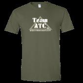 Anaconda Treasure Company Unisex Military Green Tee