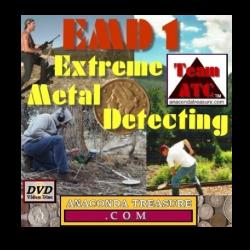 Anaconda Treasure DVD- EMD1