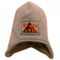 Anaconda Treasure Company Grey Ski Cap with Flaps