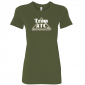 Anaconda Treasure Company Ladies Olive Tee