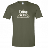 Anaconda Treasure Company Unisex Military Green Tee