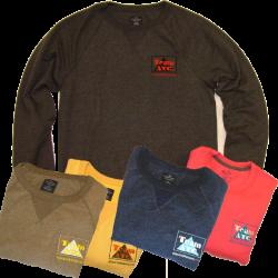 Anaconda Treasure Company Heather Color Sweatshirt